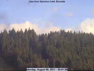 Webcam Skigebied Borovets cam 3 - Rilagebergte